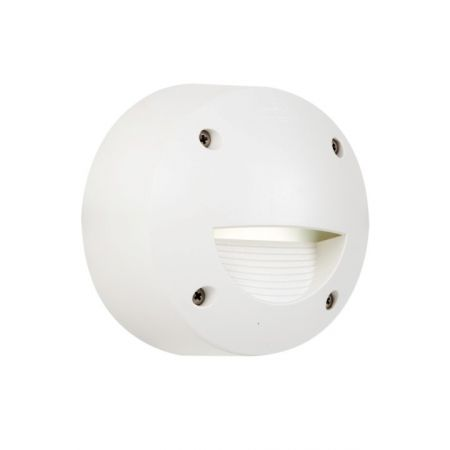 EXTRALETI 100 ROUND SURFACE LAMP - WHITE (WITH COVER)