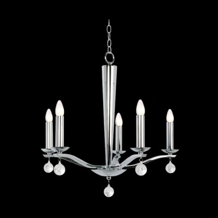 CANDELABRA 5 ARM CHANDELIER