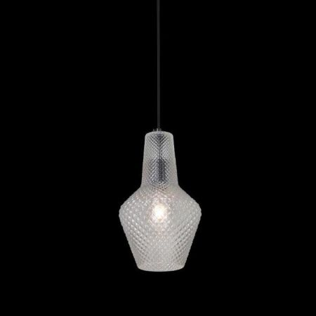 MILANO PENDANT LARGE MILK CLEAR GLASS