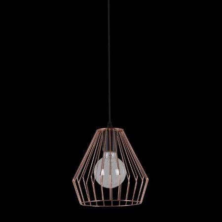 ANTHEA PENDANT METAL WITH COPPER GRID SHADE