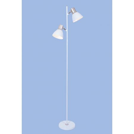 TWO LIGHT FLOOR LAMP