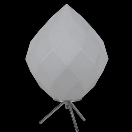 COMO TABLE LAMP OPAL GLASS