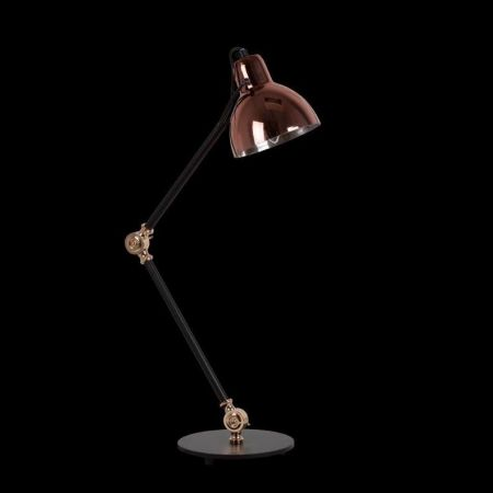 SIENA TABLE LAMP ADJUSTABLE BLACK & COPPER