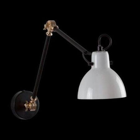 SIENA WALL LIGHT ADJUSTABLE WITH OPAL GLASS